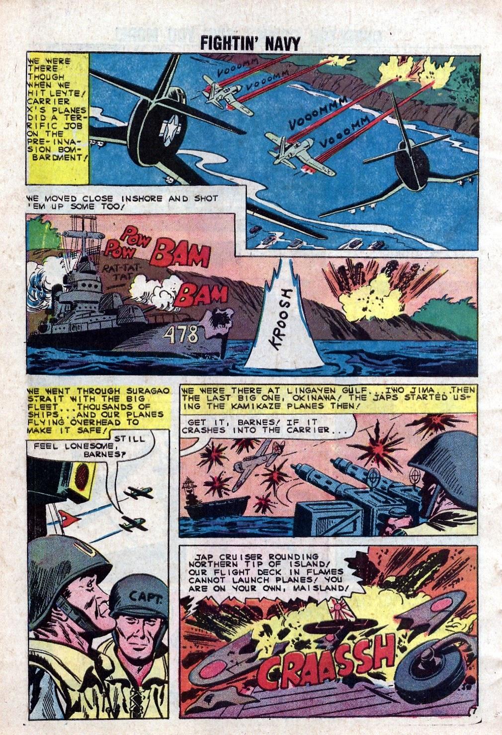 Read online Fightin' Navy comic -  Issue #94 - 10