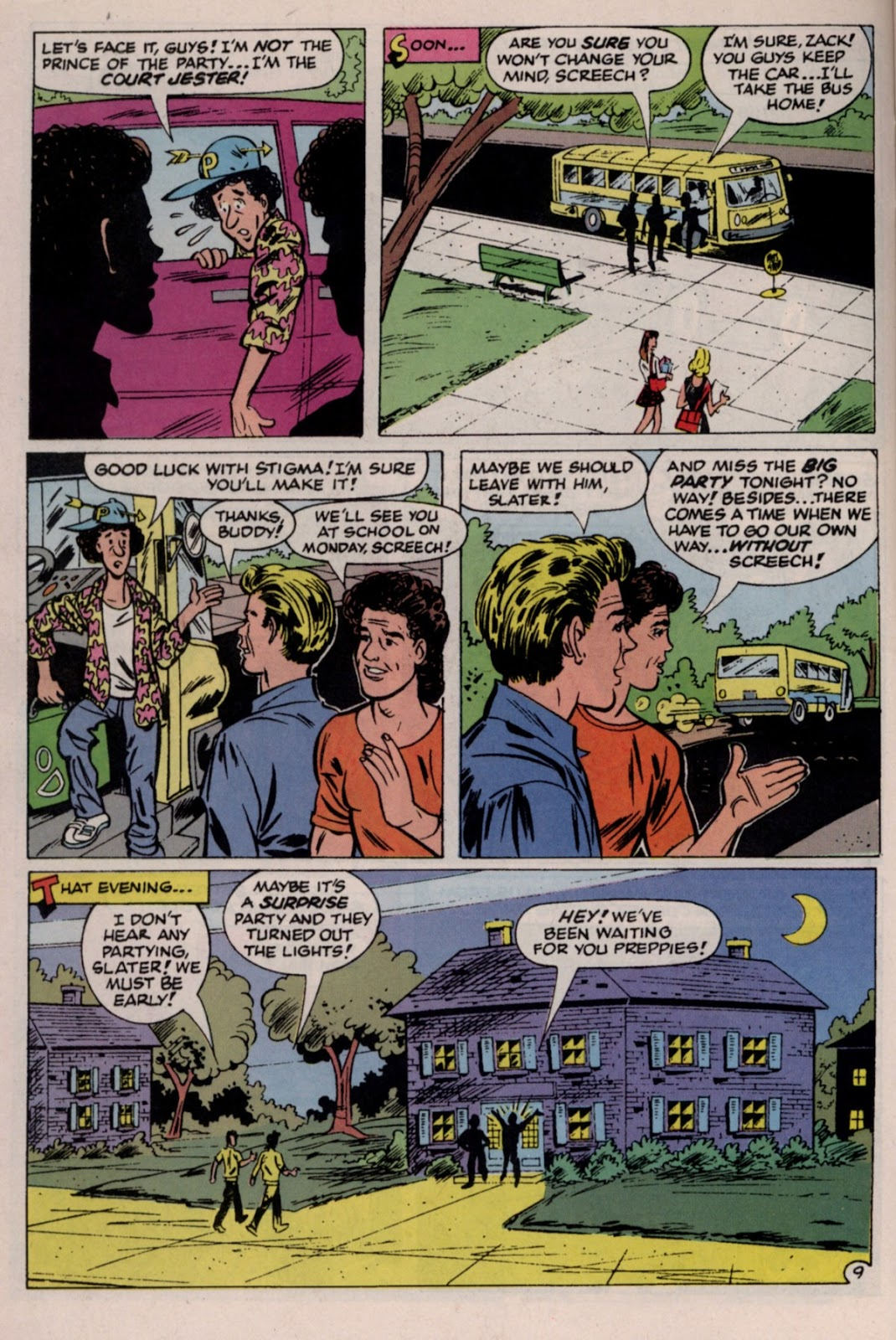 Read online Saved By The Bell comic -  Issue #2 - 14