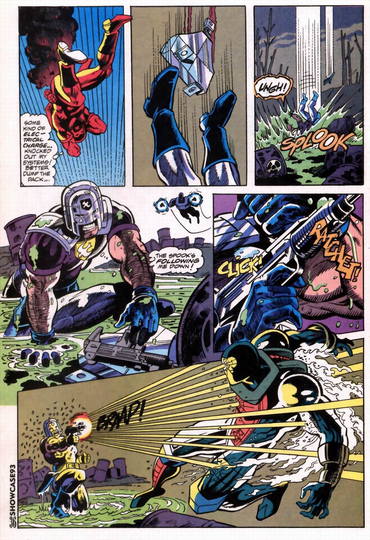 Read online Showcase '93 comic -  Issue #6 - 38