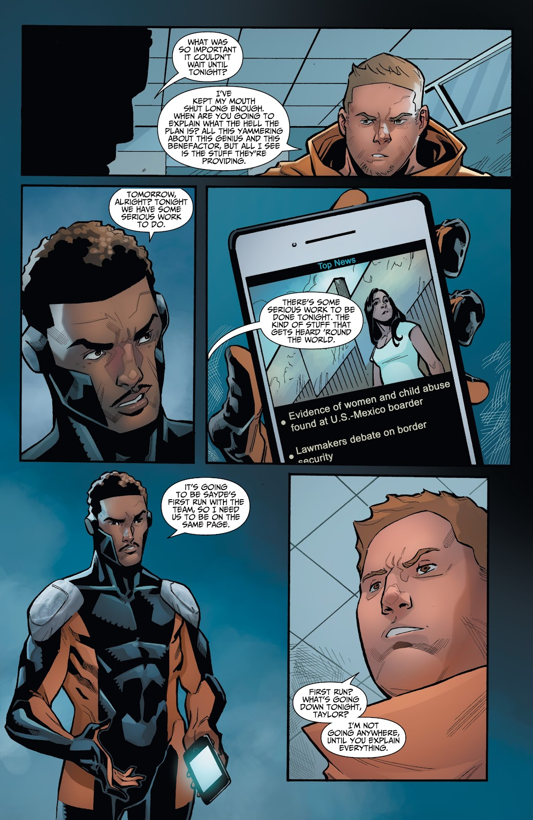Read online Incidentals comic -  Issue #16 - 22