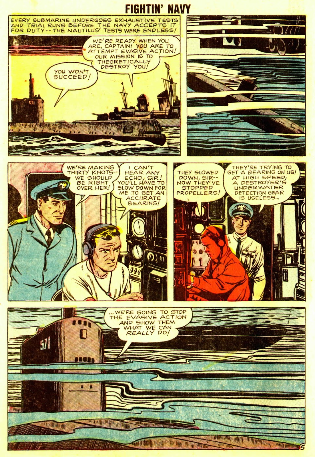 Read online Fightin' Navy comic -  Issue #83 - 56
