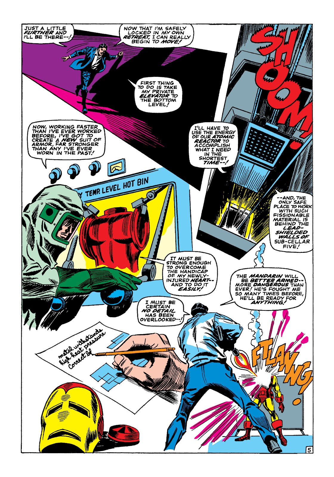 Read online Marvel Masterworks: The Invincible Iron Man comic -  Issue # TPB 4 (Part 1) - 24