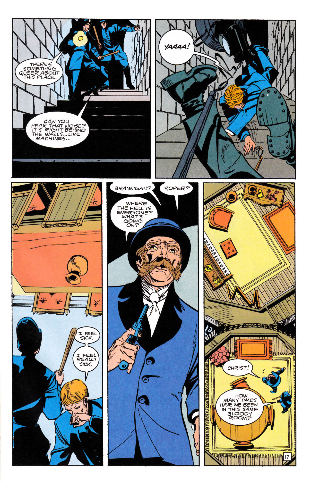 Read online Sebastian O comic -  Issue #1 - 21