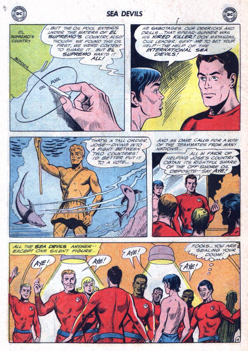 Read online Sea Devils comic -  Issue #25 - 7