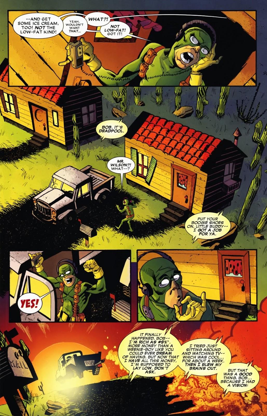 Read online Deadpool (2008) comic -  Issue #13 - 6