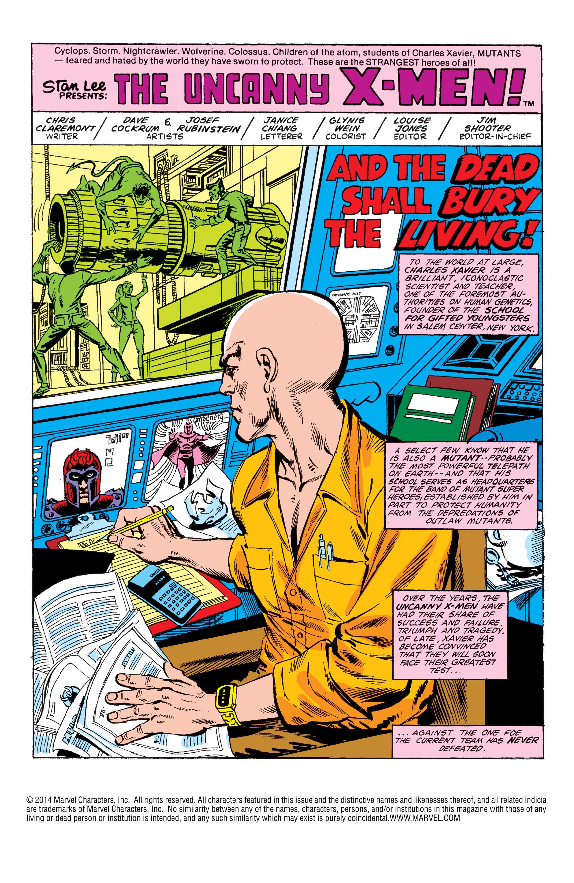 Uncanny X-Men (1963) 149 Page 2