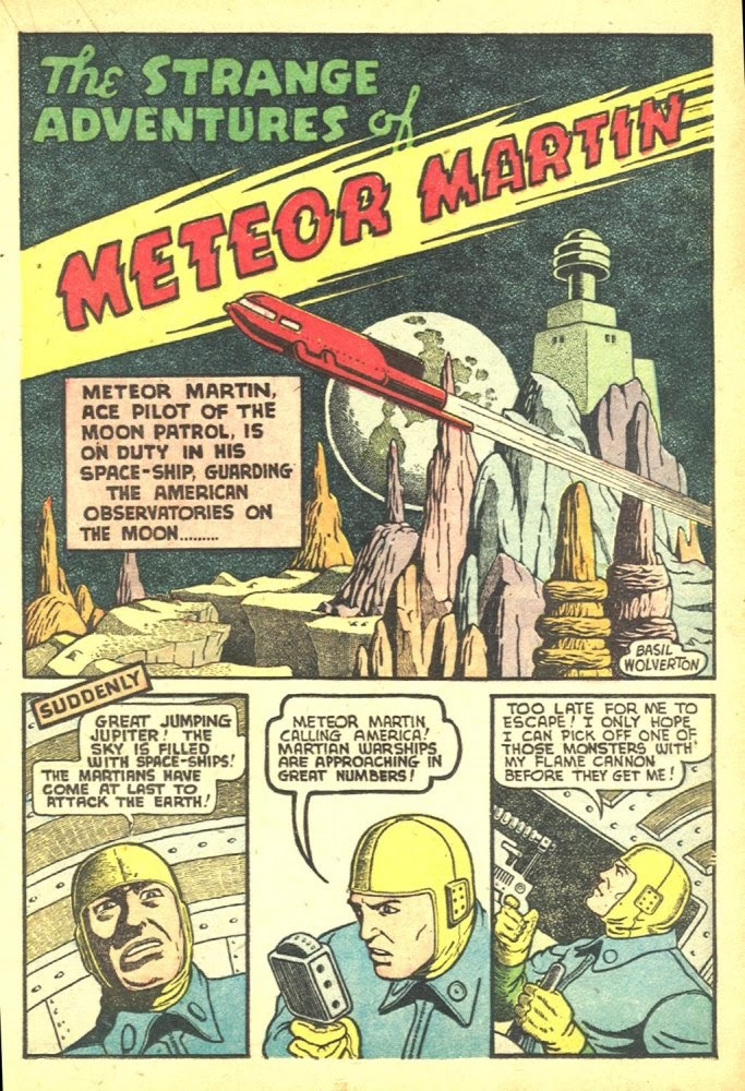 Read online Amazing Man Comics comic -  Issue #25 - 39
