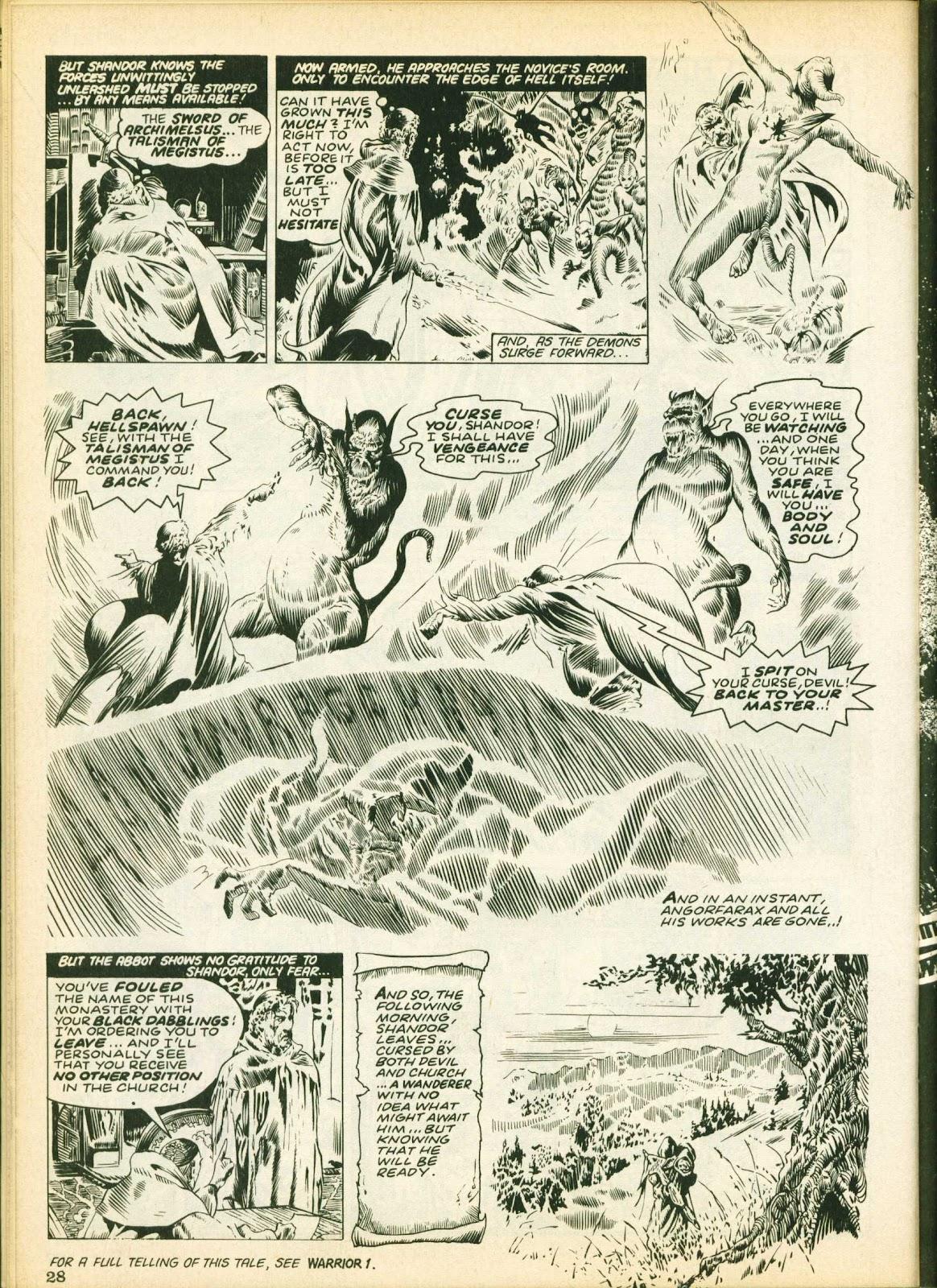Warrior Issue #25 #26 - English 28