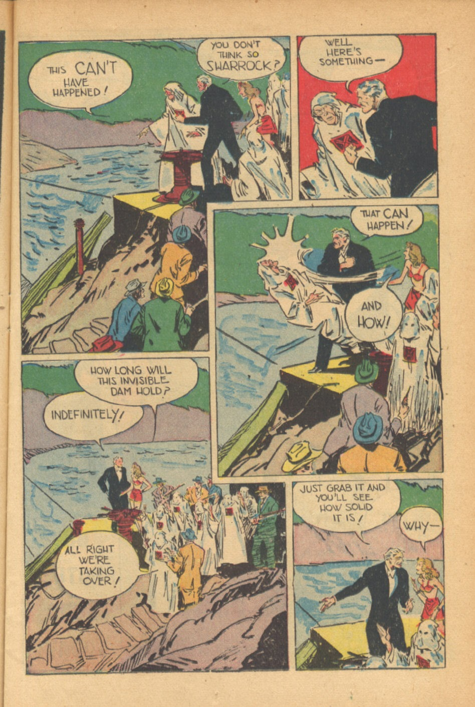 Read online Super-Magician Comics comic -  Issue #41 - 15