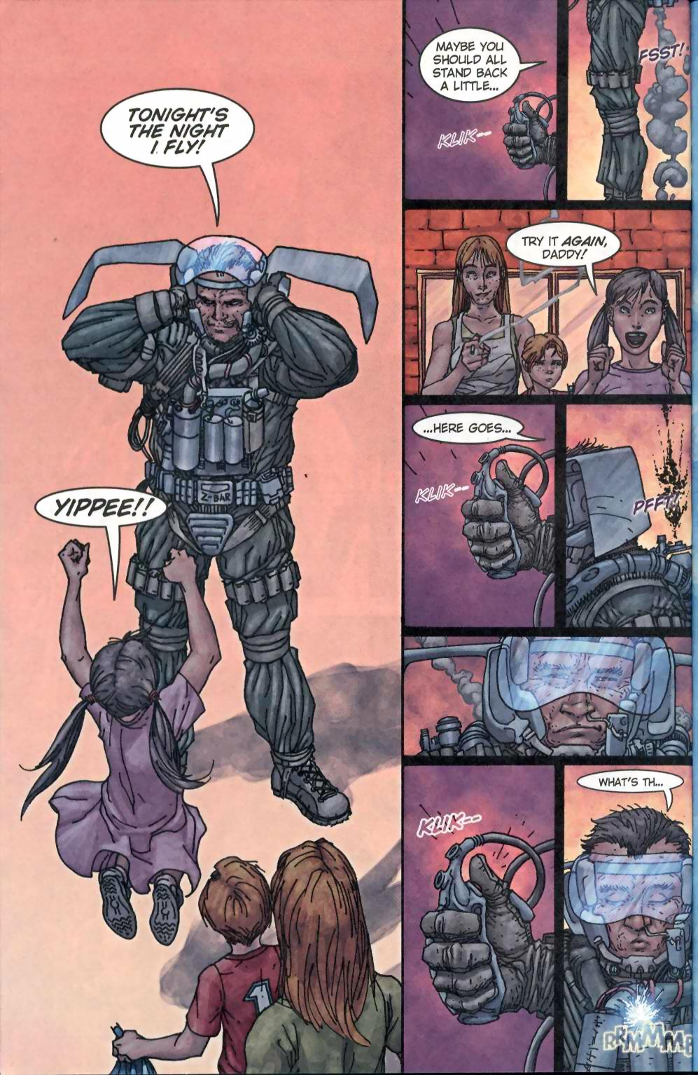 Read online Flinch comic -  Issue #1 - 6