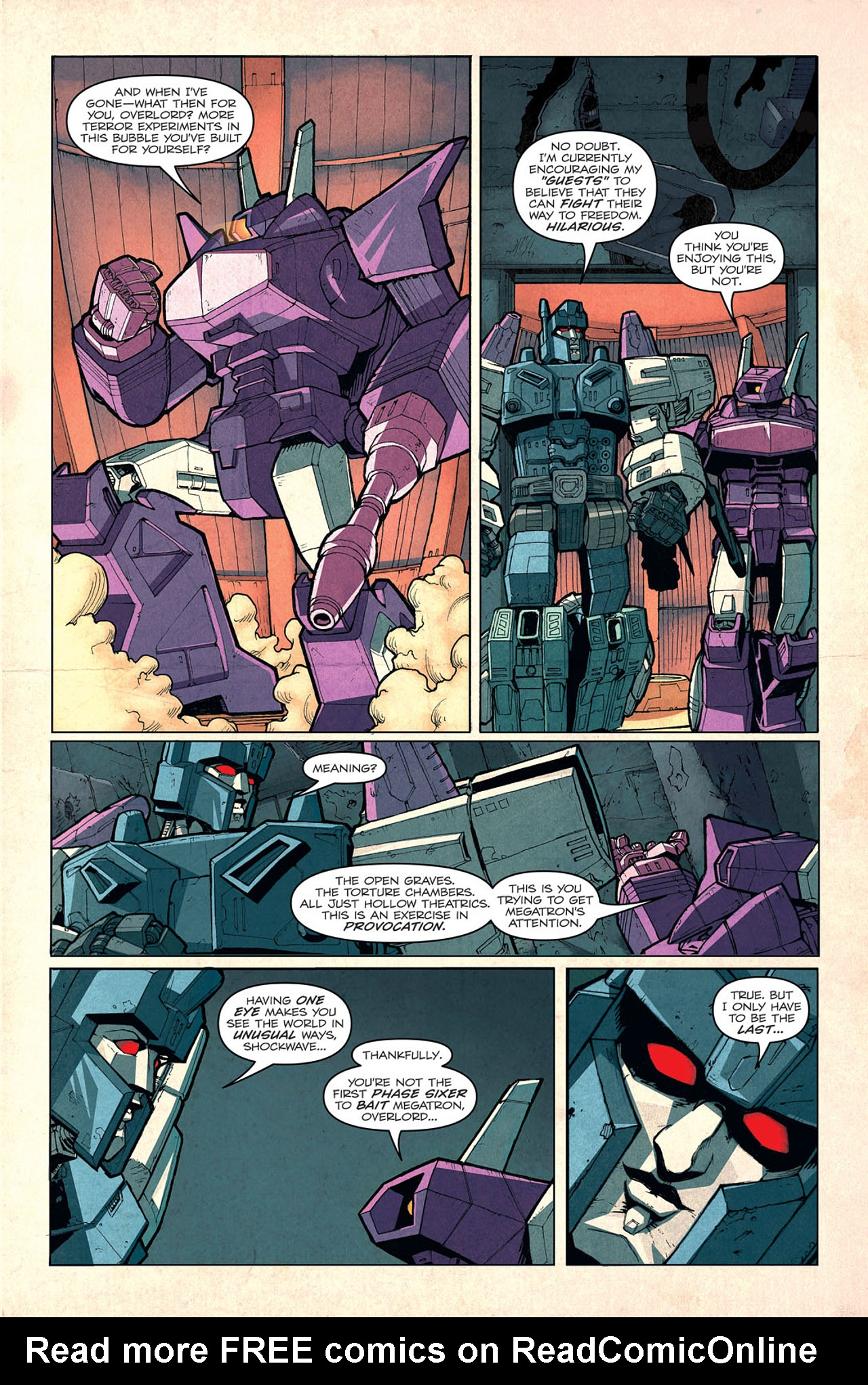 Read online Transformers: Last Stand of The Wreckers comic -  Issue #3 - 6
