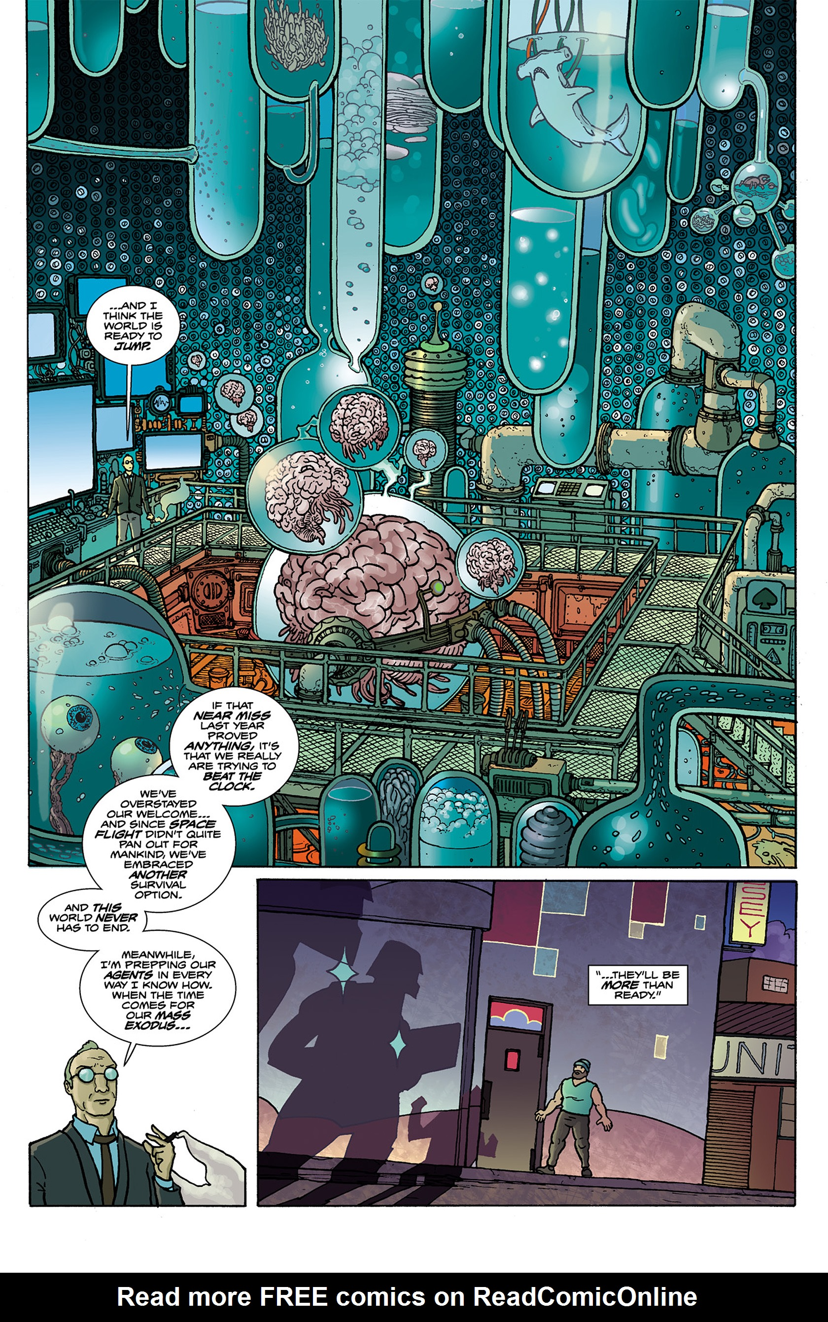 Read online Catalyst Comix comic -  Issue #4 - 23