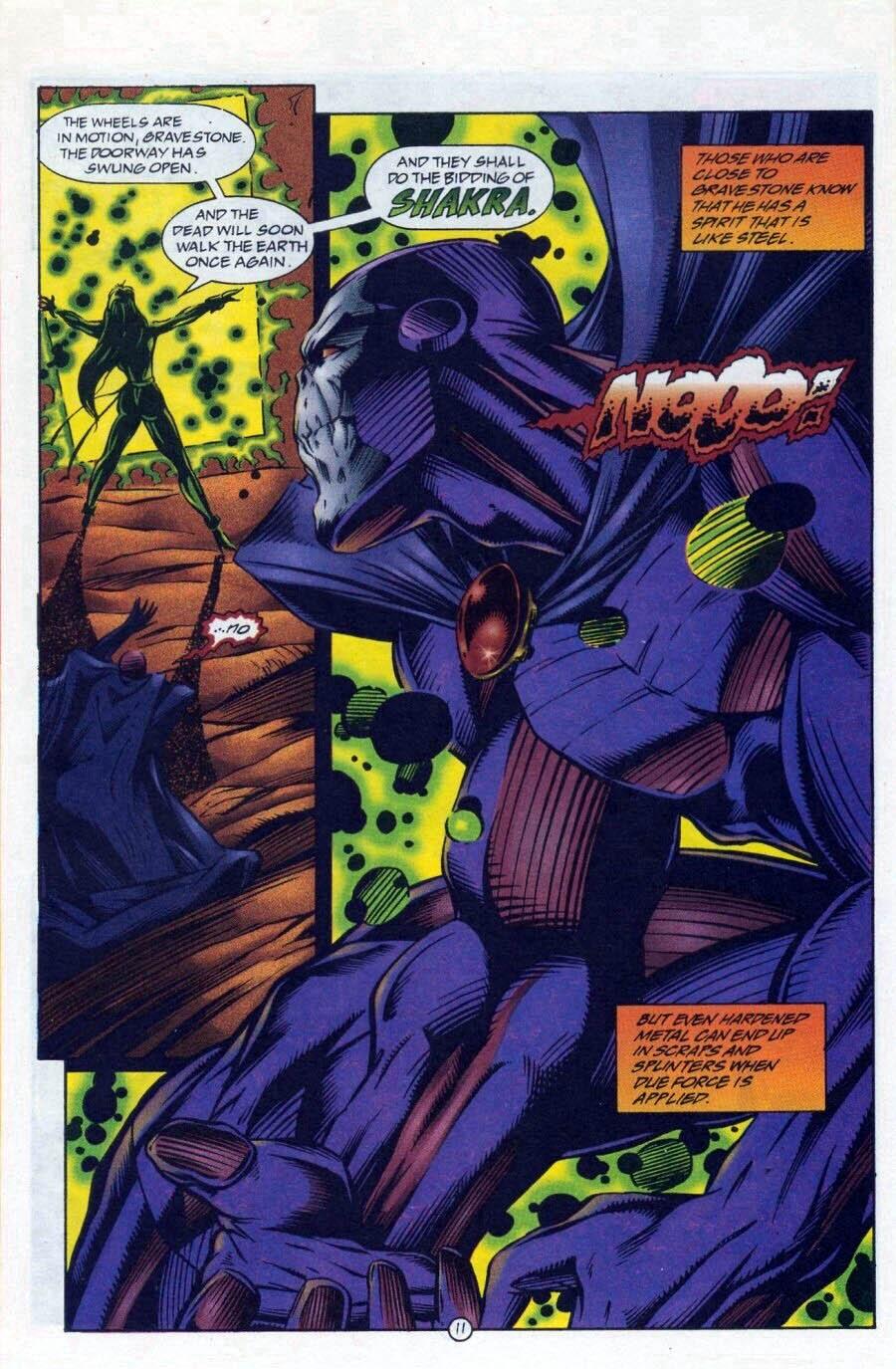 Read online Ex-Mutants comic -  Issue #17 - 12