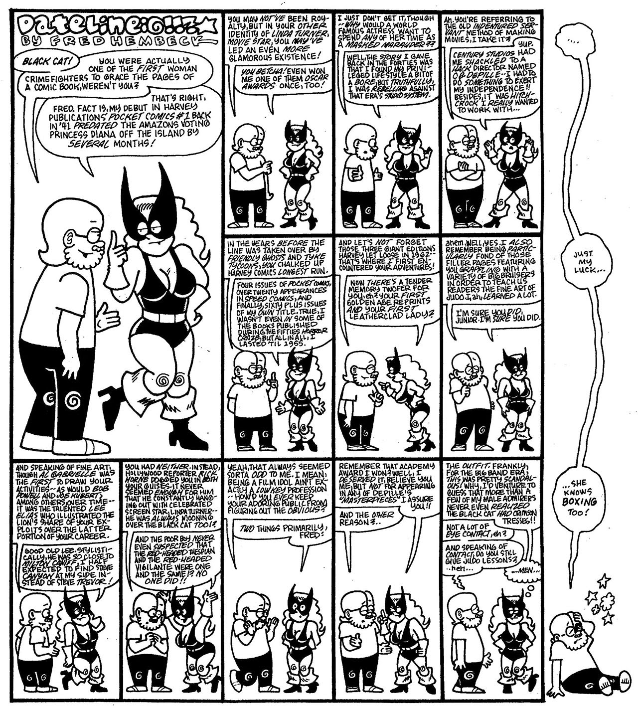Read online The Nearly Complete Essential Hembeck Archives Omnibus comic -  Issue # TPB (Part 8) - 35