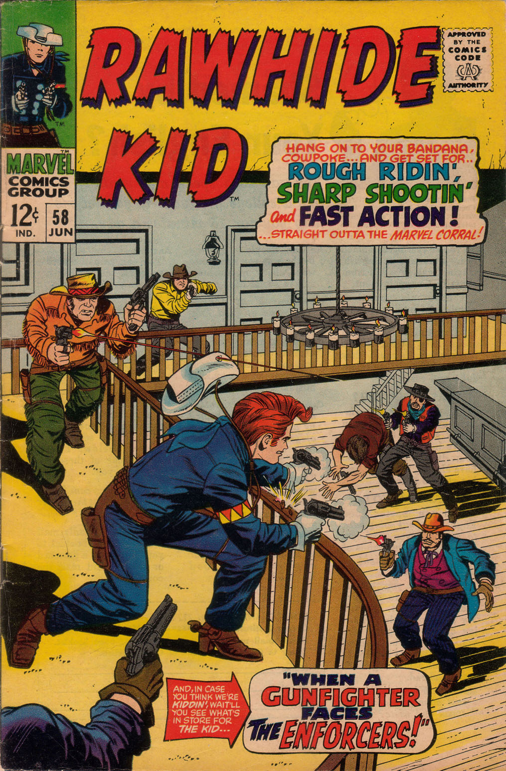 The Rawhide Kid (1955) issue 58 - Page 1