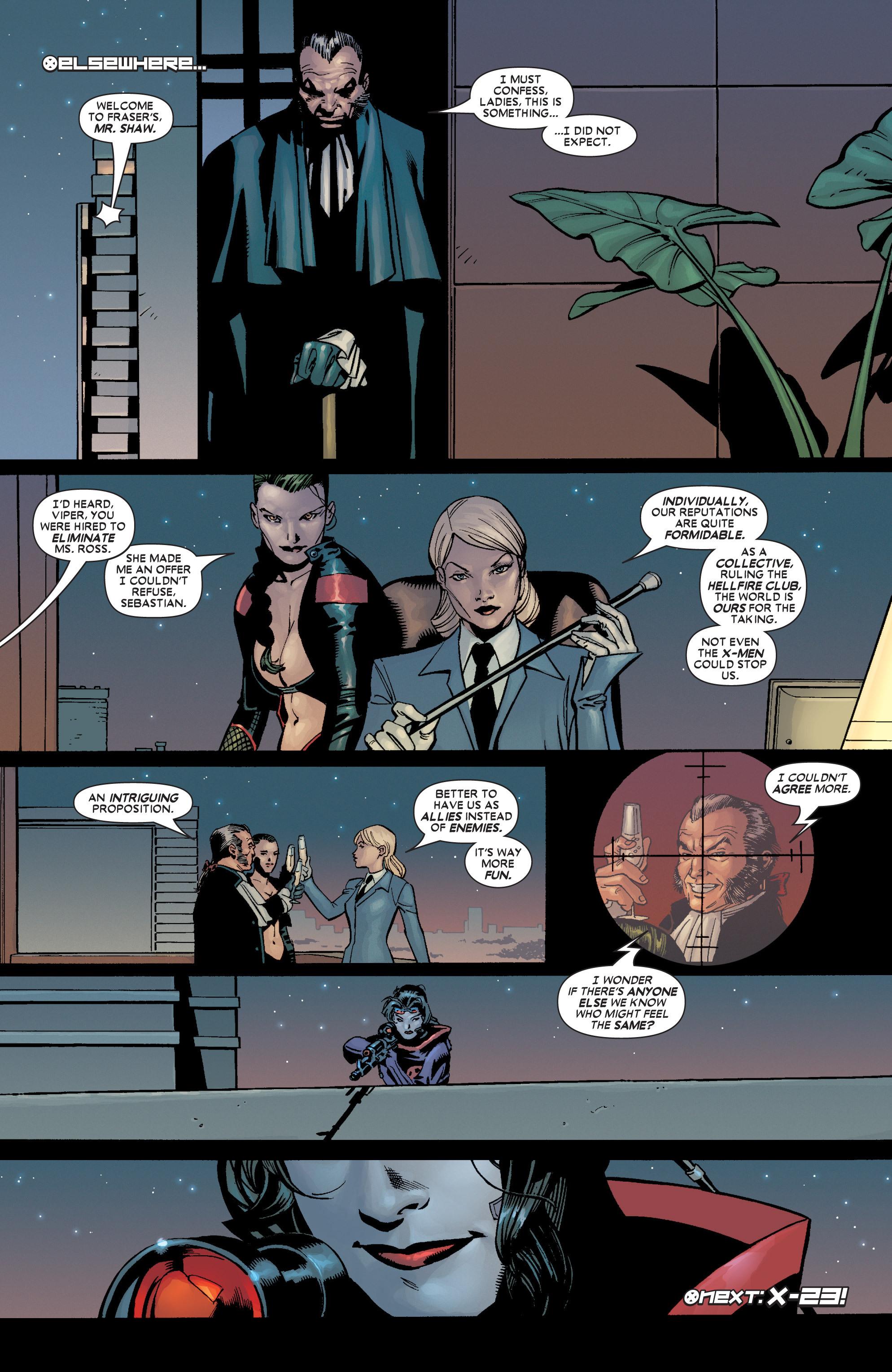 Read online Uncanny X-Men (1963) comic -  Issue #449 - 24
