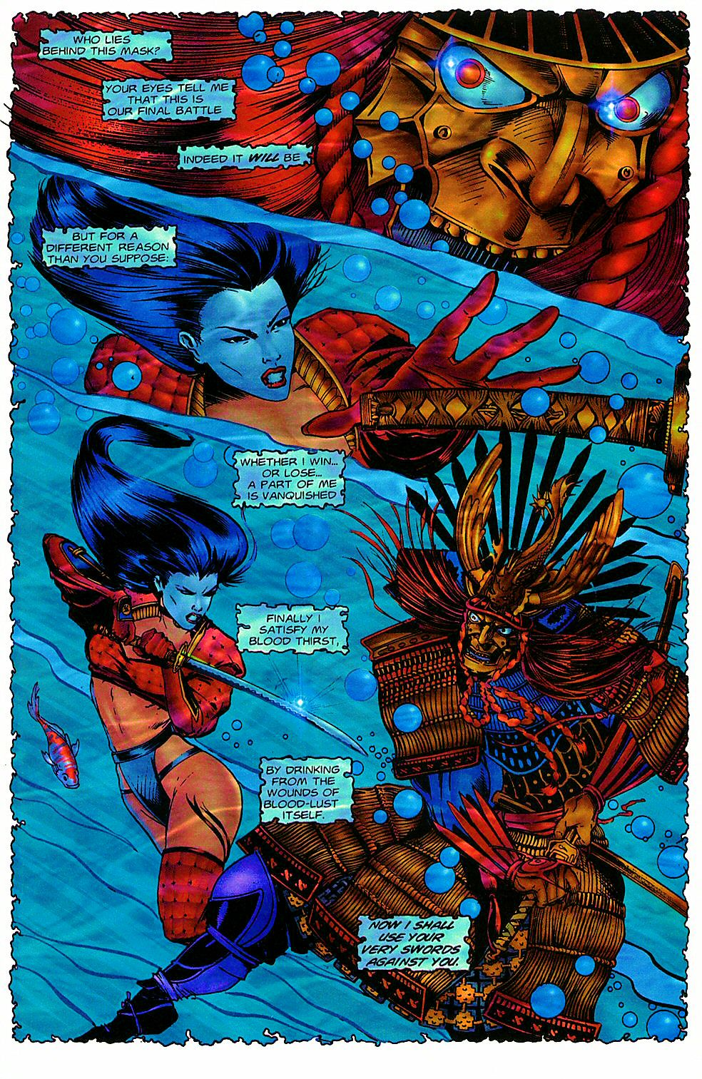 Read online Shi: The Way of the Warrior comic -  Issue #5 - 18