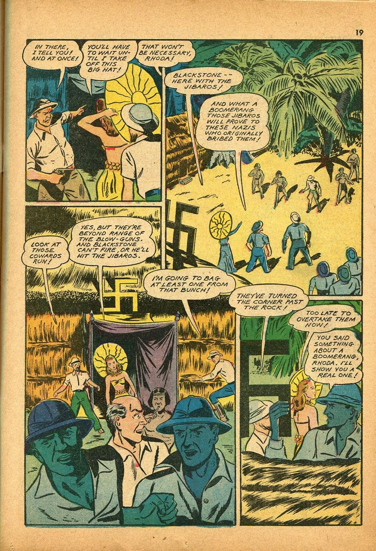 Read online Super-Magician Comics comic -  Issue #9 - 19