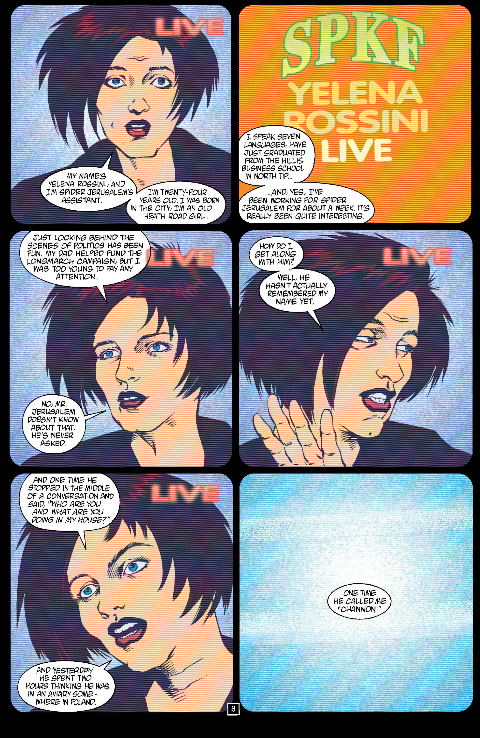 Read online Transmetropolitan comic -  Issue #15 - 9