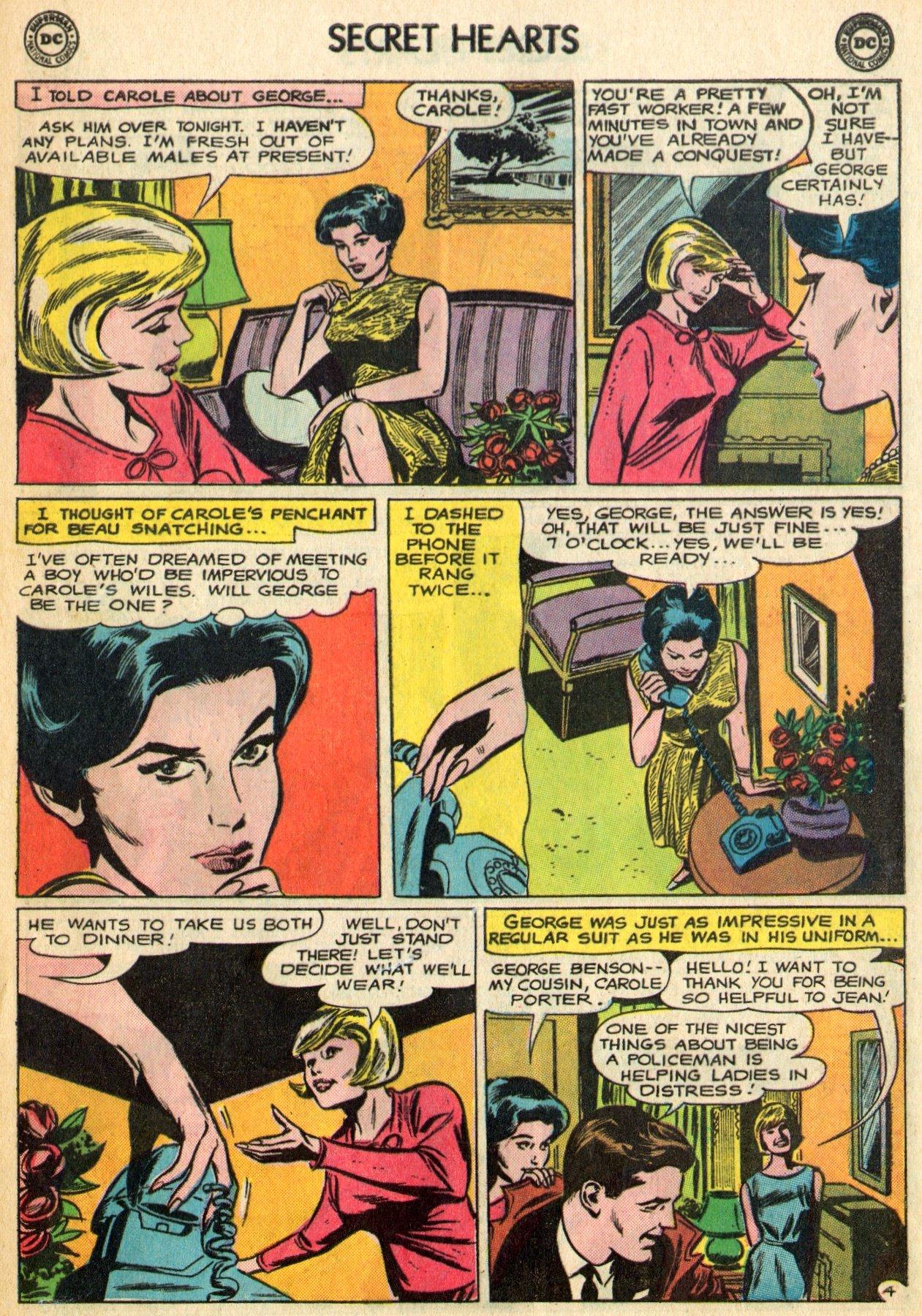 Read online Secret Hearts comic -  Issue #96 - 17