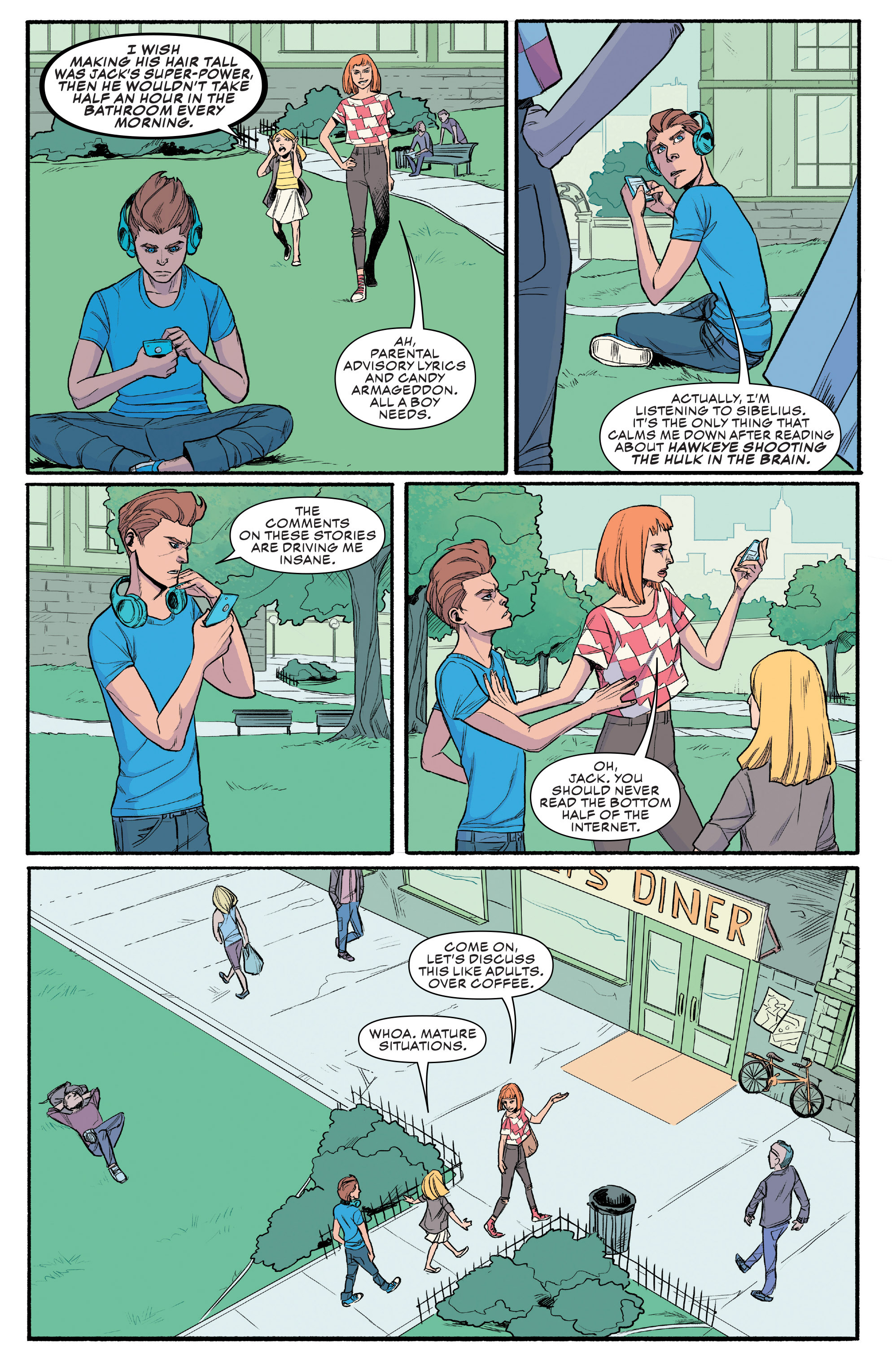 Read online Civil War II: Choosing Sides comic -  Issue #4 - 14