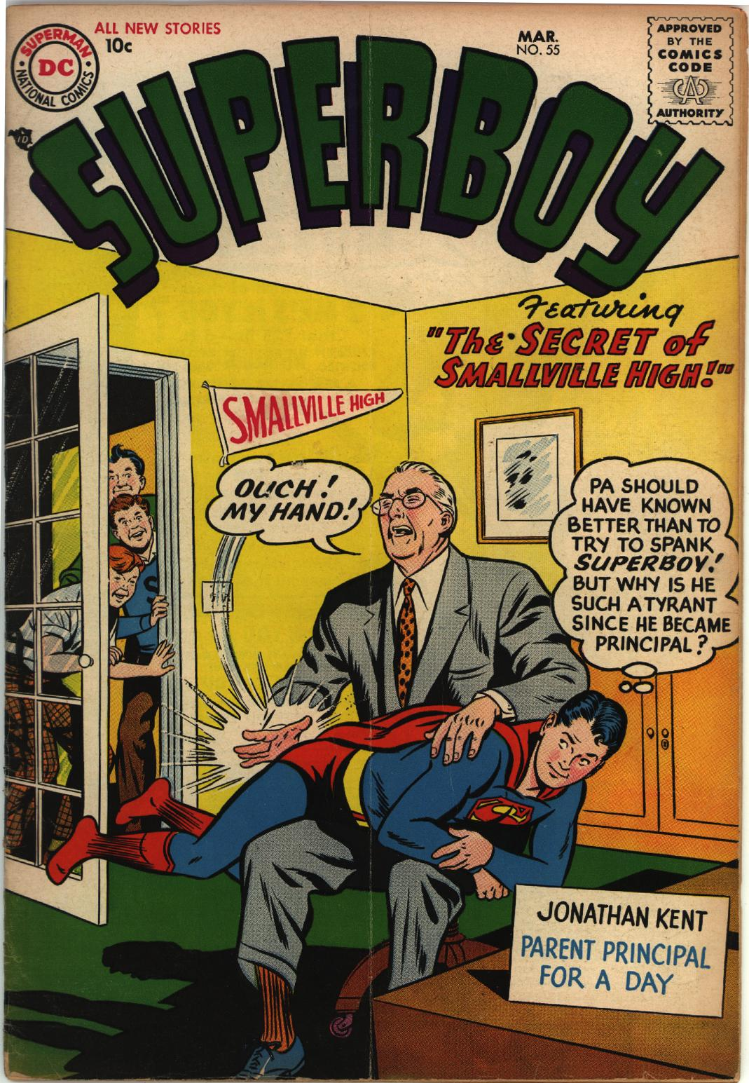 Superboy (1949) issue 55 - Page 1