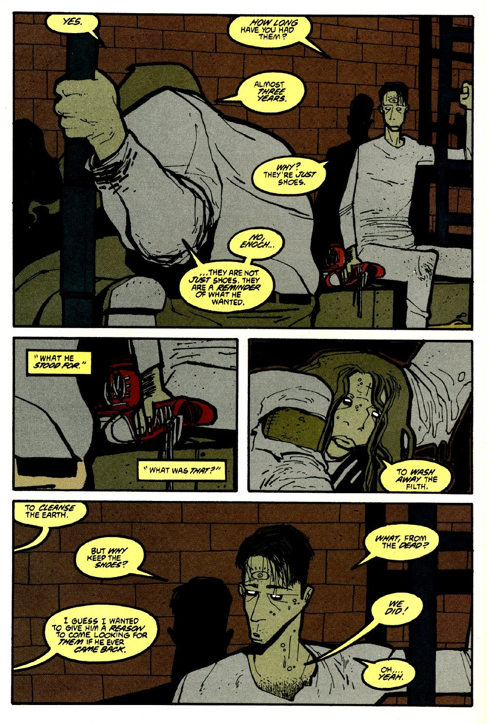 Read online Ted McKeever's Metropol comic -  Issue #8 - 26