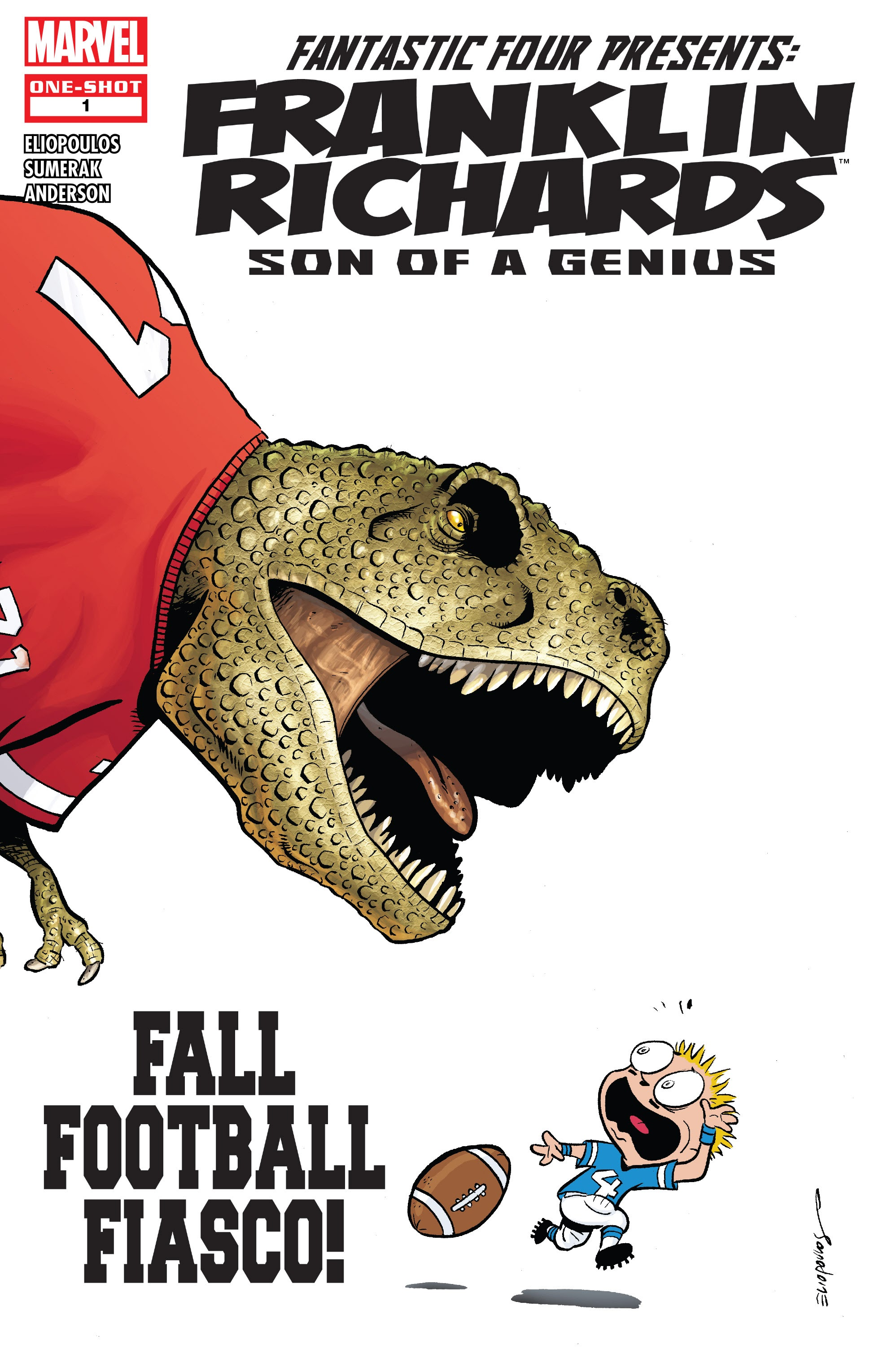 Franklin Richards: Fall Football Fiasco! issue Full - Page 1