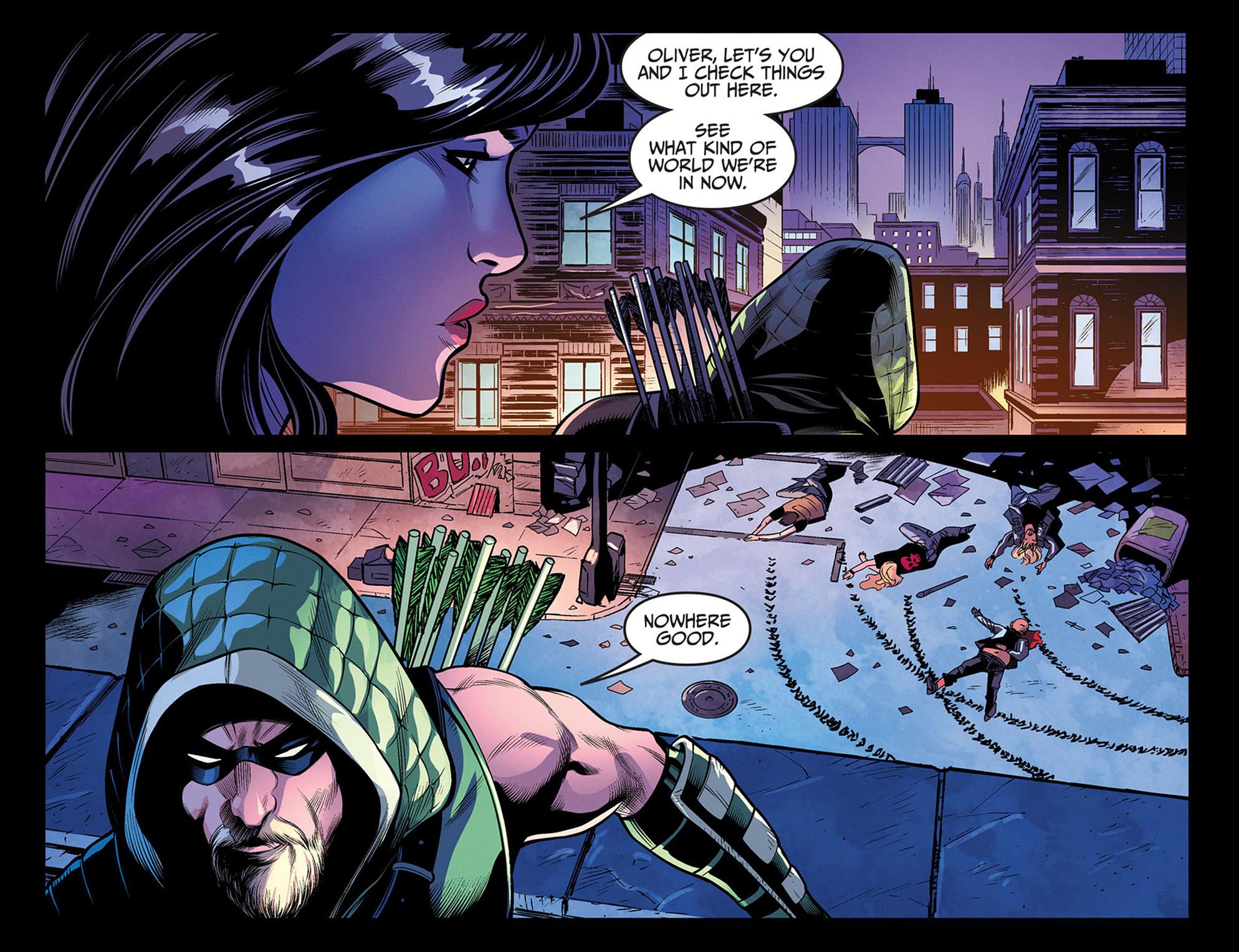 Read online Injustice: Ground Zero comic -  Issue #3 - 13