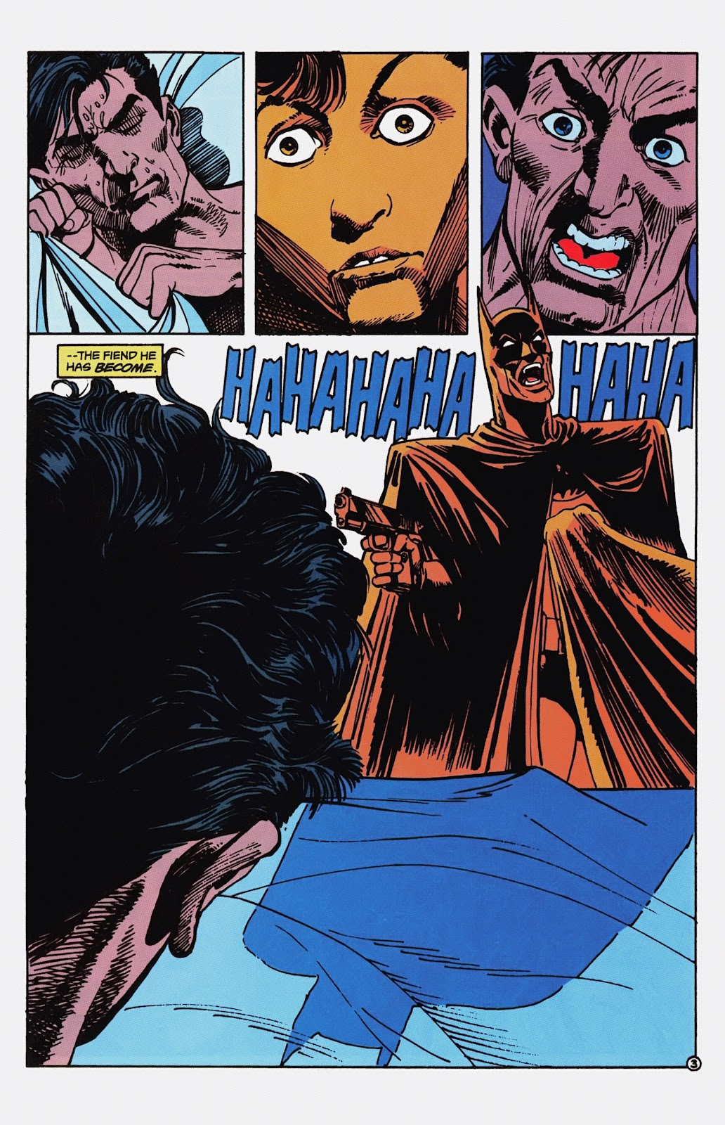 Read online Detective Comics (1937) comic -  Issue # _TPB Batman - Blind Justice (Part 1) - 8
