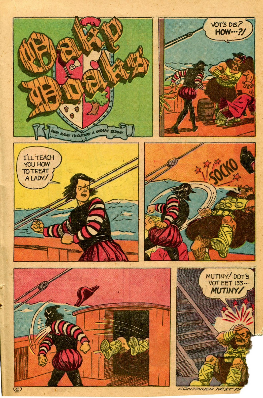 Read online Famous Funnies comic -  Issue #127 - 35