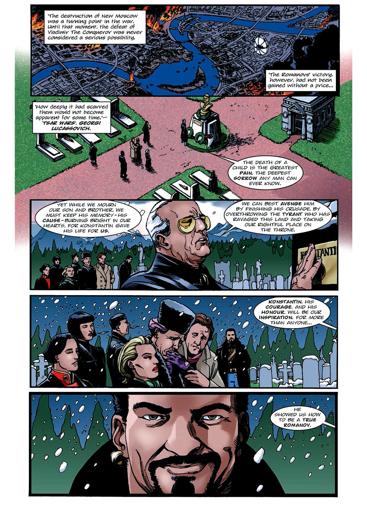 Read online Nikolai Dante comic -  Issue # TPB 4 - 149