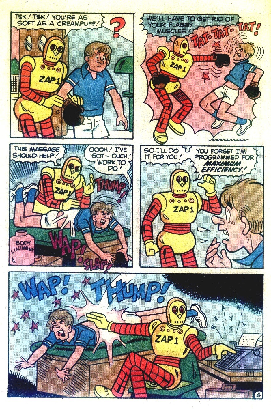 Read online Madhouse Comics comic -  Issue #120 - 6