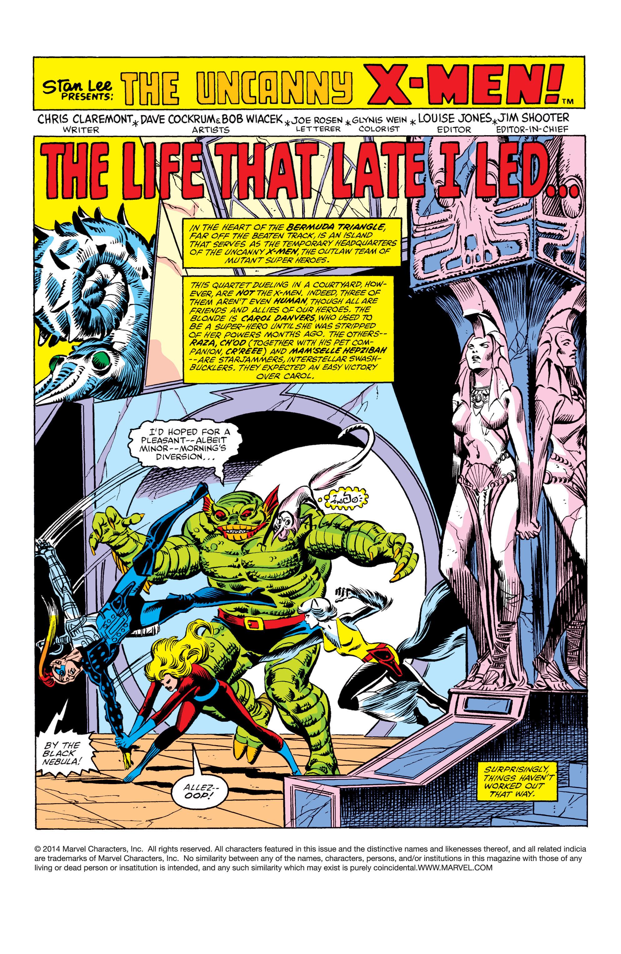 Read online Uncanny X-Men (1963) comic -  Issue #158 - 2