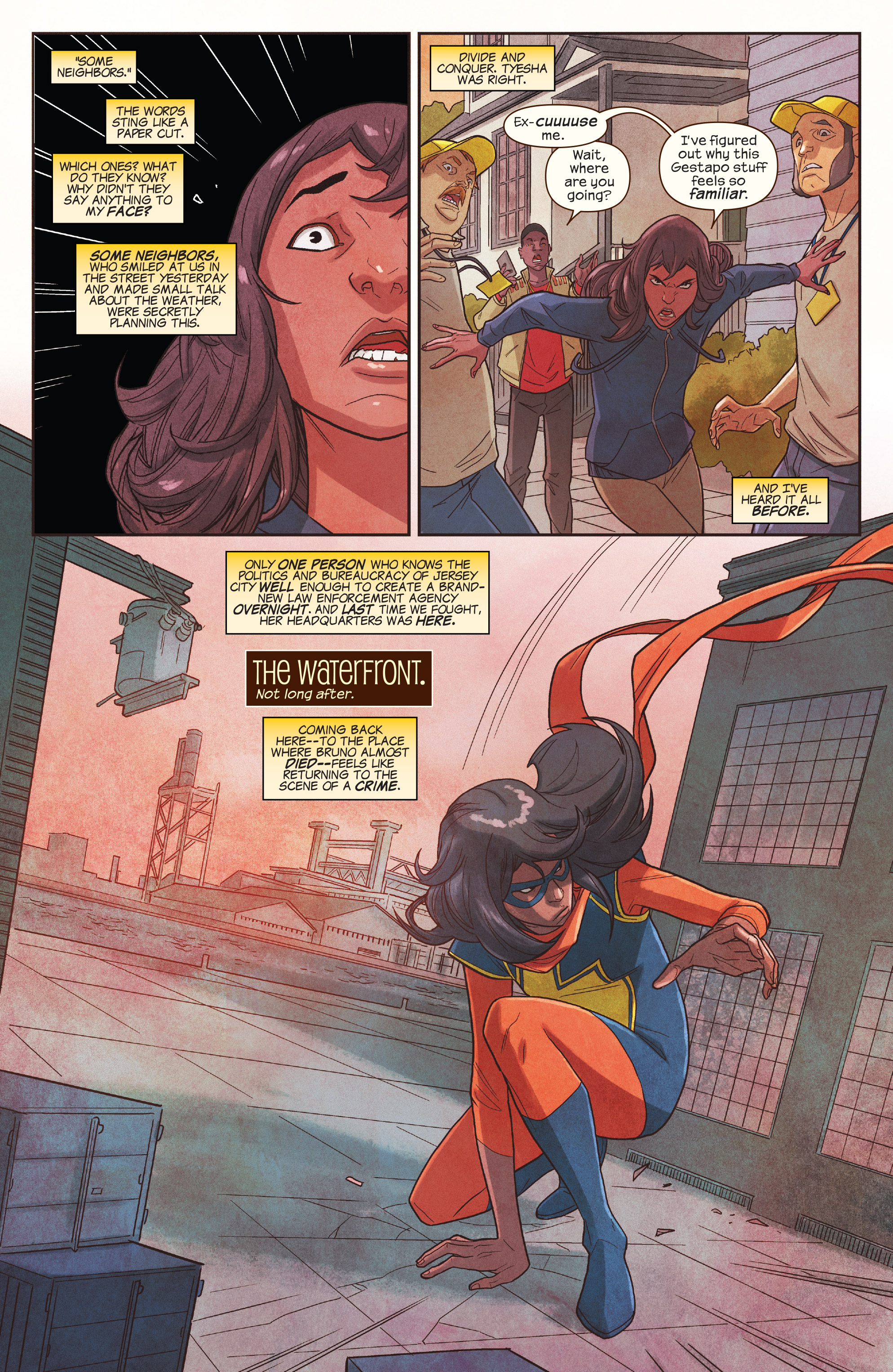 Read online Ms. Marvel (2016) comic -  Issue #19 - 11