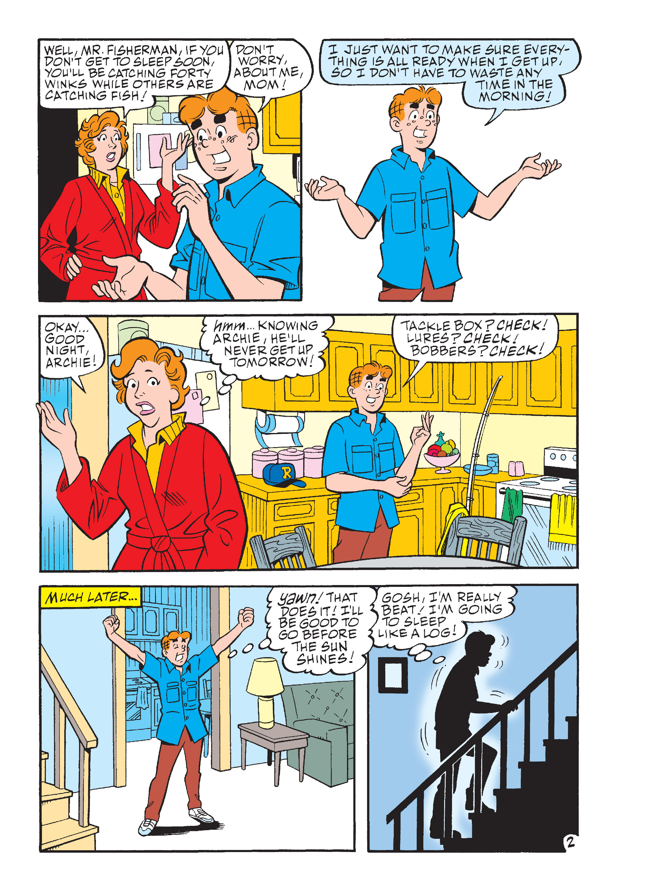 Read online Archie's Funhouse Double Digest comic -  Issue #15 - 173