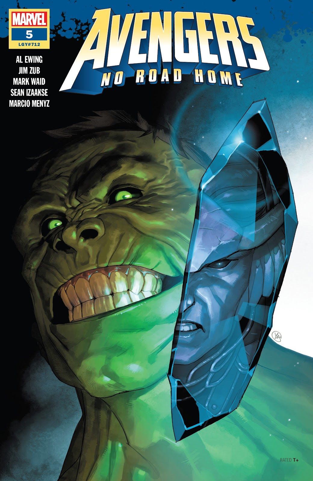 Read online Avengers No Road Home comic -  Issue #5 - 1