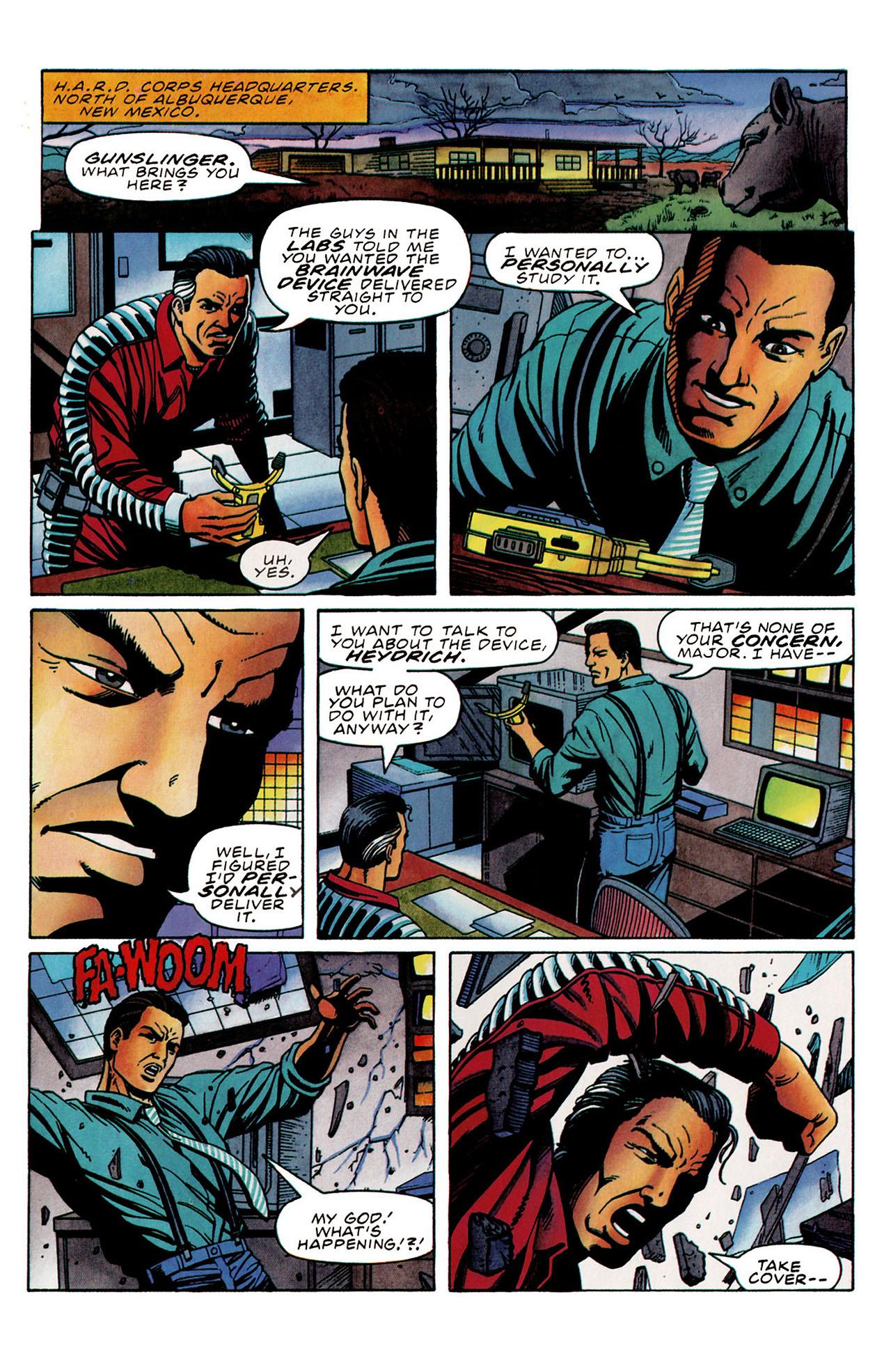 Read online Harbinger (1992) comic -  Issue #31 - 21
