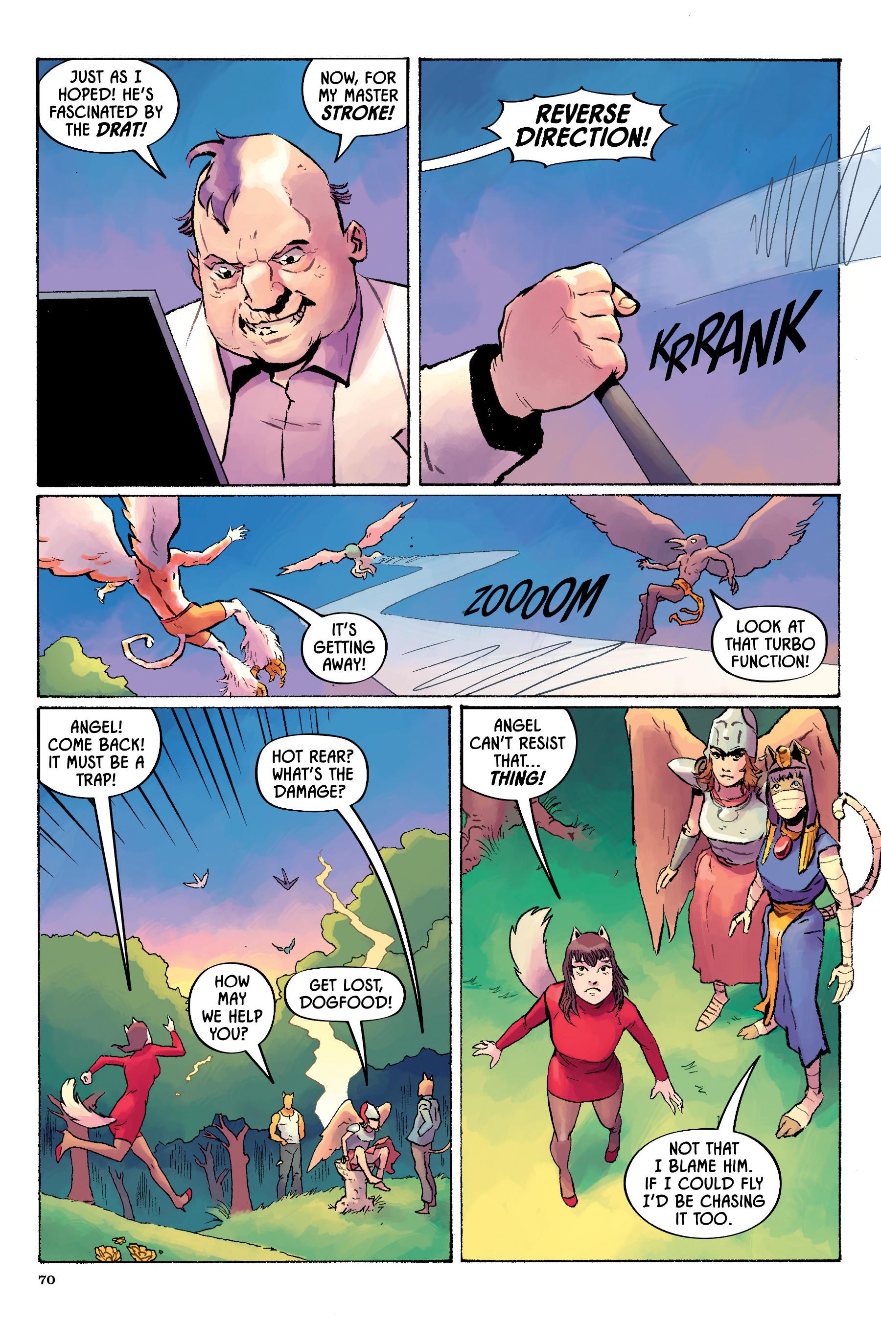 Read online Angel Catbird comic -  Issue # TPB 2 - 71