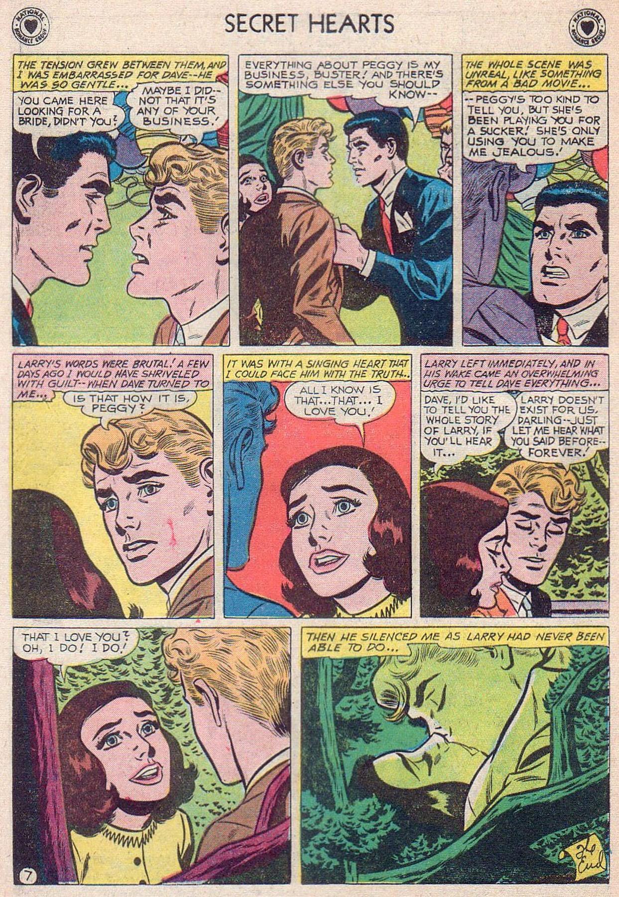 Read online Secret Hearts comic -  Issue #61 - 24
