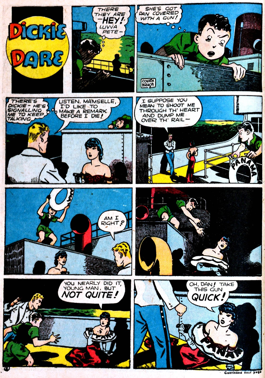 Read online Famous Funnies comic -  Issue #87 - 12