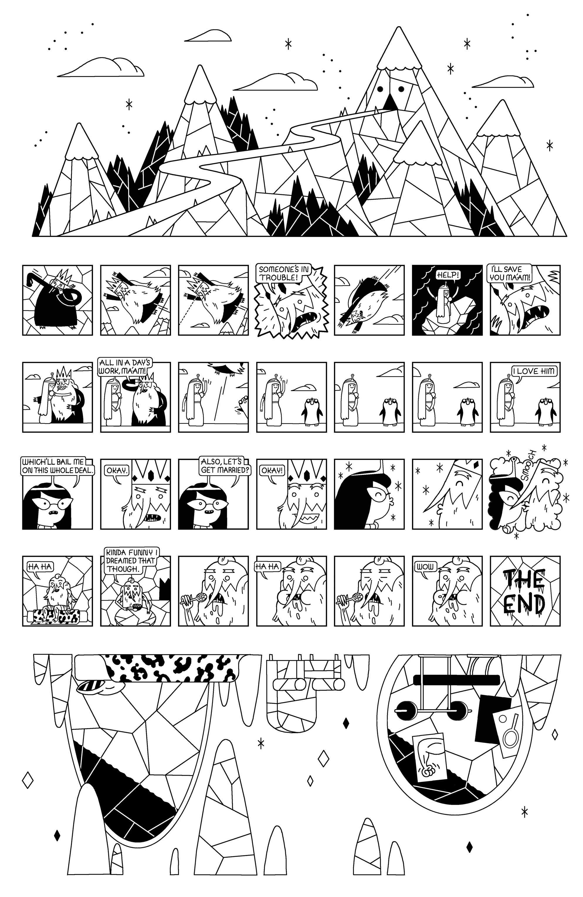 Read online Adventure Time comic -  Issue #30 - 17