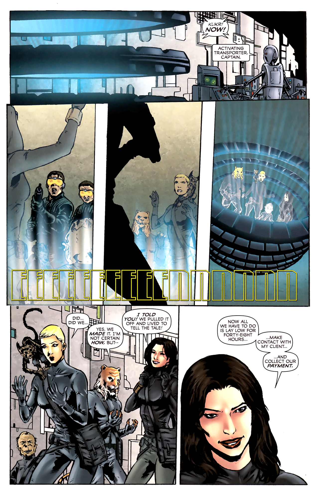Read online Stargate Vala Mal Doran comic -  Issue #2 - 13