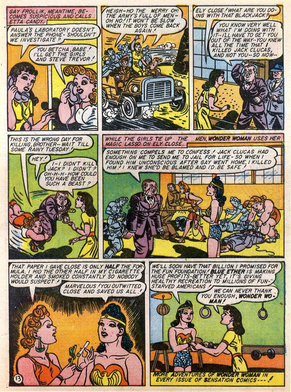 Read online Sensation (Mystery) Comics comic -  Issue #27 - 15