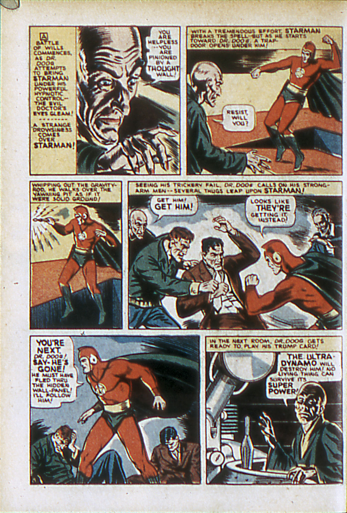 Read online Adventure Comics (1938) comic -  Issue #61 - 11