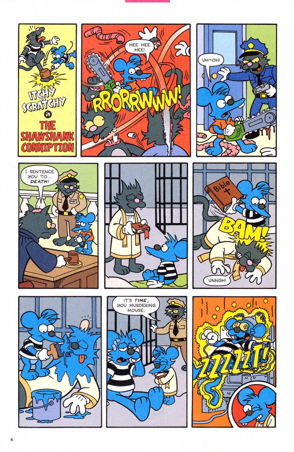 Read online Simpsons Comics comic -  Issue #108 - 7