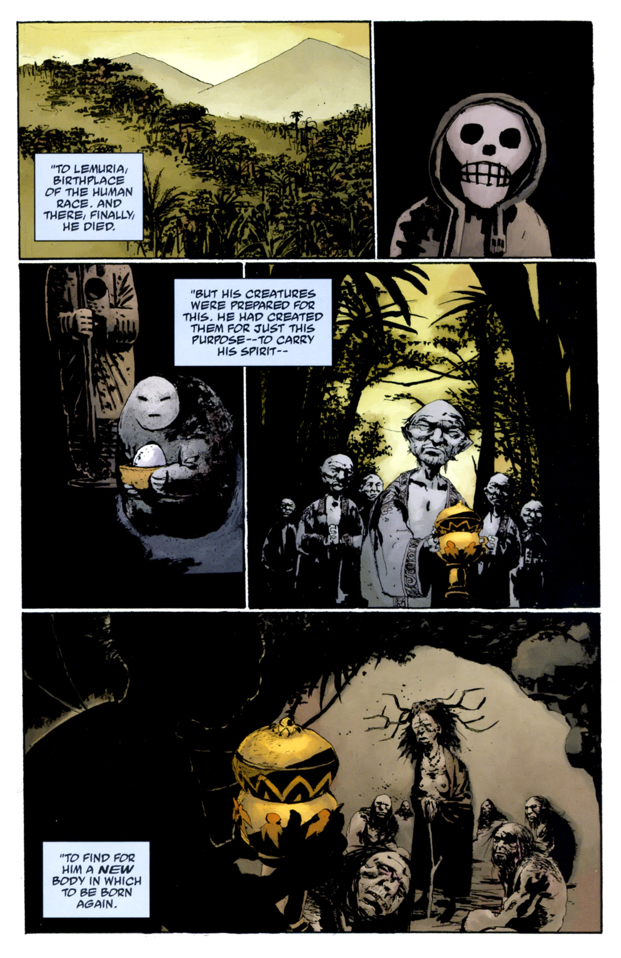 Read online Abe Sapien: The Drowning comic -  Issue #4 - 18