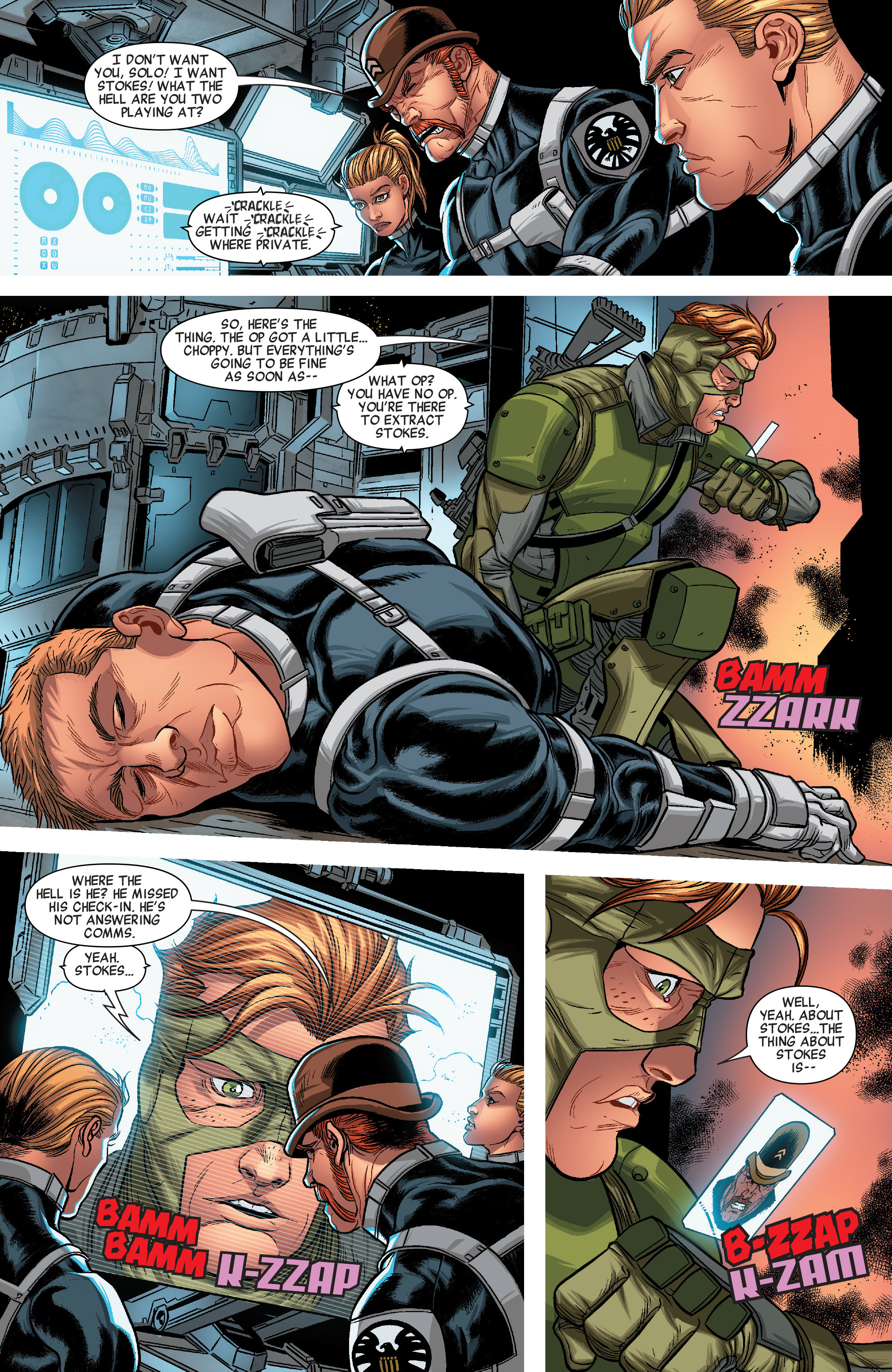 Read online Solo (2016) comic -  Issue #3 - 16