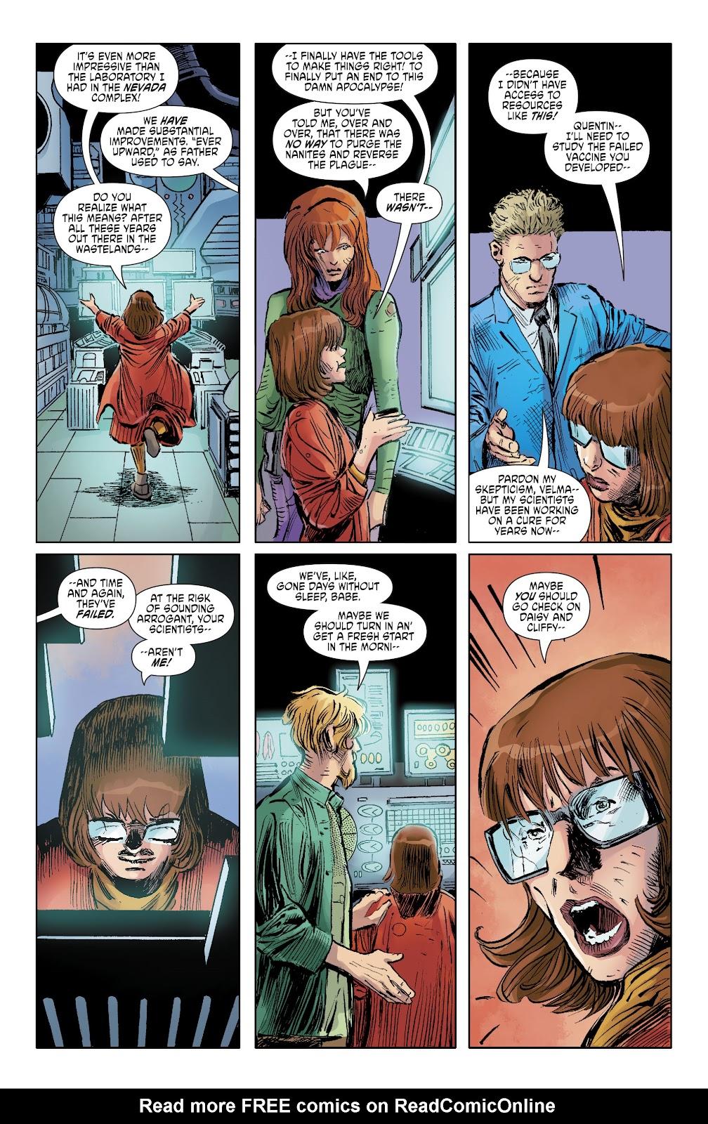 Read online Scooby Apocalypse comic -  Issue #35 - 17
