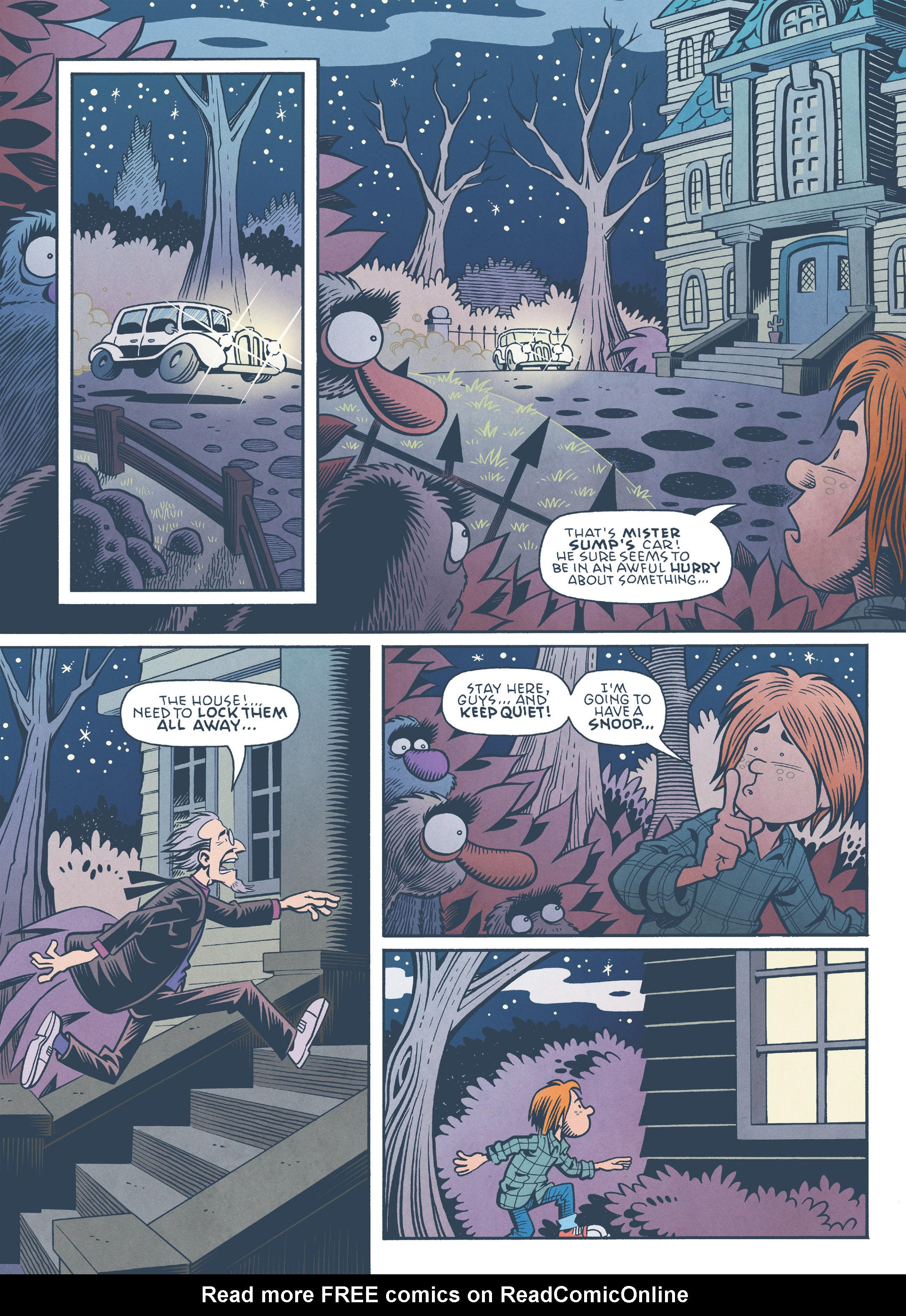 Read online Jim Henson's The Musical Monsters of Turkey Hollow comic -  Issue # Full - 68